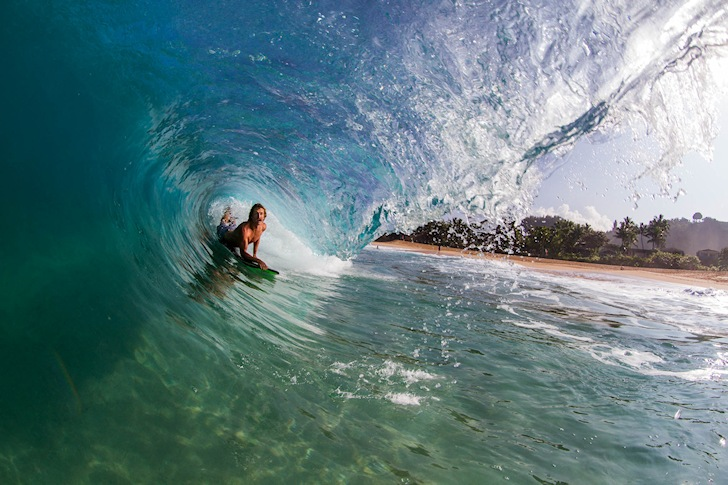 Keiki Shorebreak: deep, steep and heavy | Photo: Sacha Specker