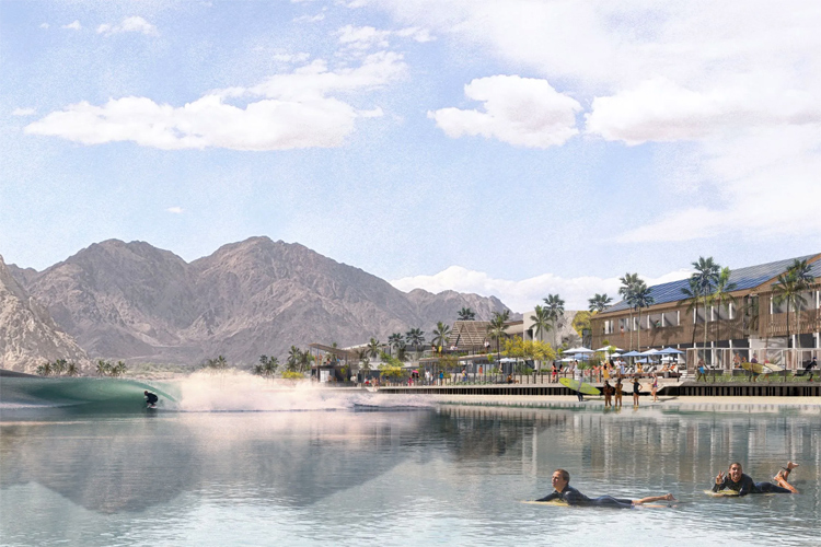 Kelly Slater Surf Resort: the world's largest wave pool is coming to the desert city of La Quinta | Photo: KSWC