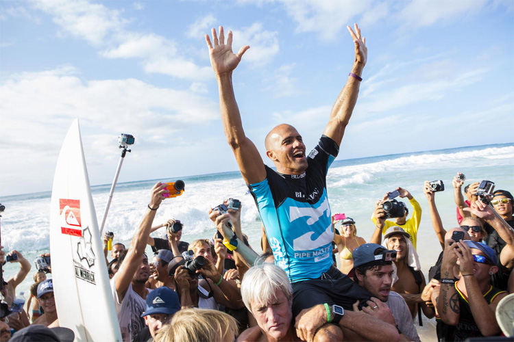 Kelly Slater: the greatest surfer of all time won 55 Championship Tour events | Photo: Scholtz/WSL