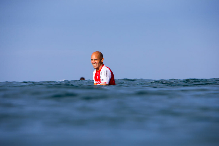Kelly Slater: probably the highest-paid professional competitive surfer of all time | Photo: WSL