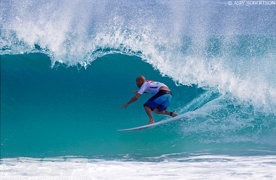 Kelly Slater: he will be golfing around