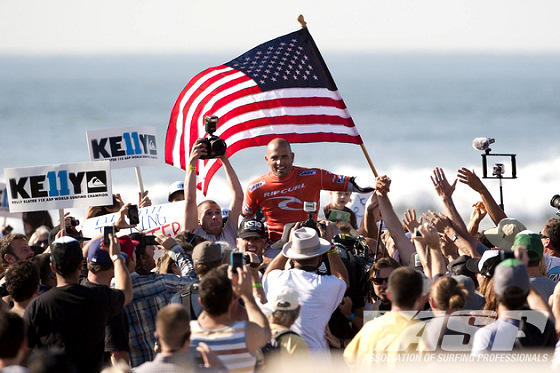 Kelly Slater: a big taxpayer