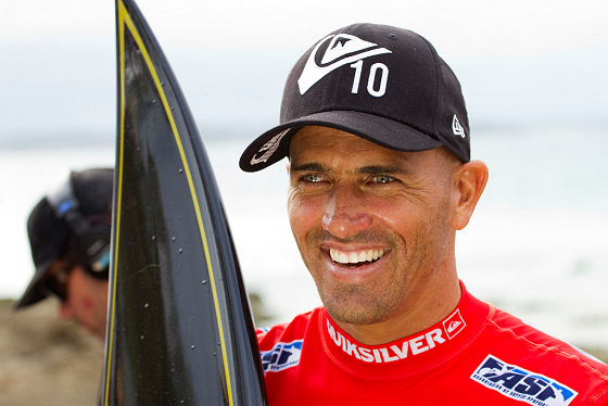 Kelly Slater: he learned mind games with Jose Mourinho