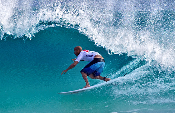 Kelly Slater: the exit door is right ahead