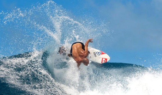 Kelly Slater leads the ''rebels''
