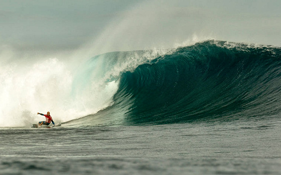 Kelly Slater: 49th victory at the Volcom Fiji Pro