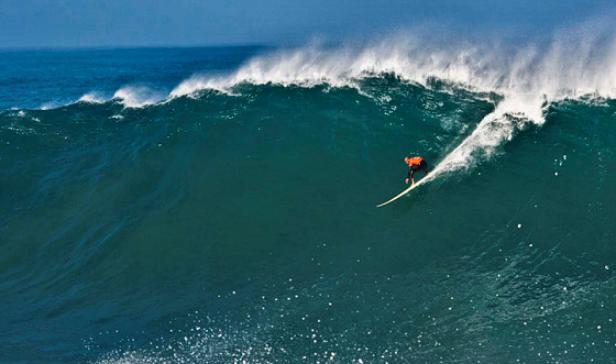 Kelly Slater: he loves Mavericks