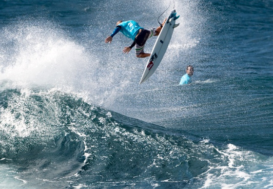 Kelly Slater: inventing new ways of kicking out