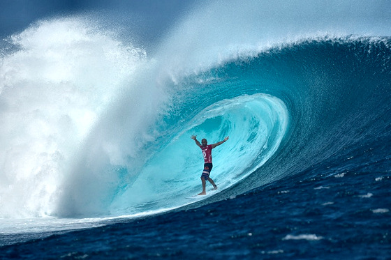 Kelly Slater: he loves Cloudbreak