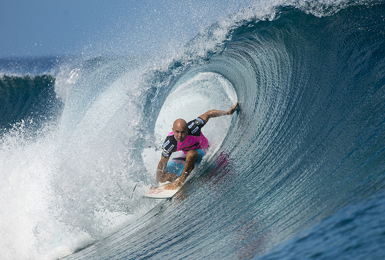 Kelly Slater: he knows the way out