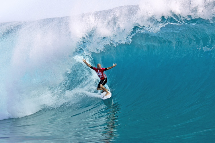 Kelly Slater: a master in the barrel | Photo: ASP/Will H-S