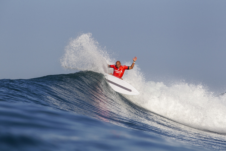 Kelly Slater: he calls Lower Trestles his hom | Photo: Rowland/WSL