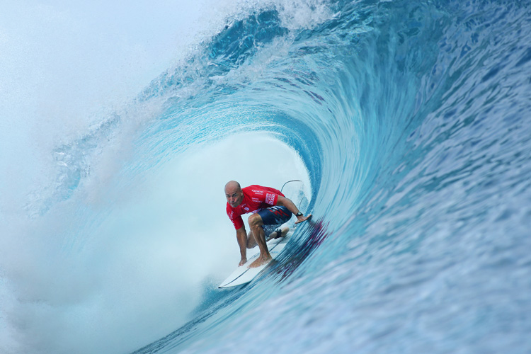 Kelly Slater: he won his 55th Championship Tour event at Teahupoo | Photo: Cestari/WSL