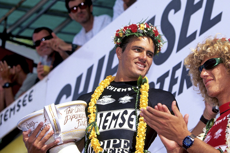 Kelly Slater: winner of the 1995 Chiemsee Pipe Masters | Photo: Quiksilver