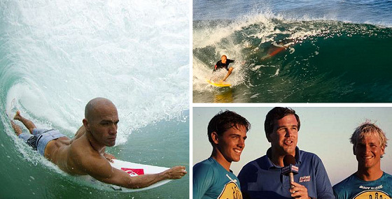 Kelly Slater: he always loved bodyboarding