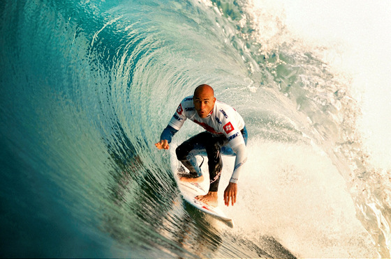 Kelly Slater: ready for the 12th surfing title