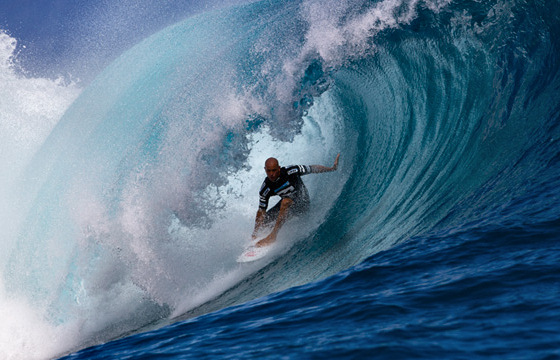Kelly Slater: he keeps going and going