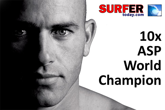 Kelly Slater: hang ten, dude!