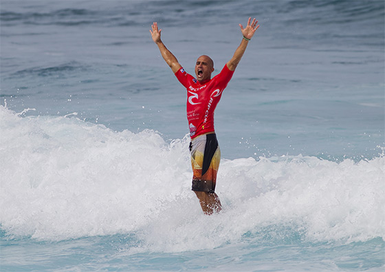 Kelly Slater: ten fingers now available
