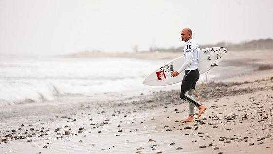Kelly Slater: eyes on the water