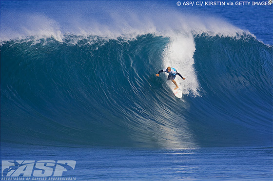 Kelly Slater: no pressure, just show off