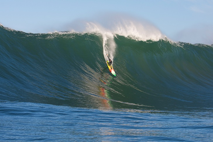 Ken Collins: a big wave charger and supporter