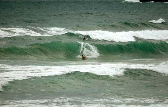 North Kernow Challenge 2011: one rider per wave