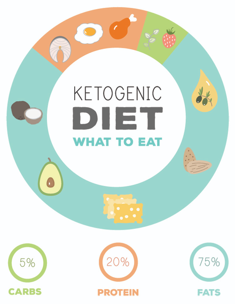 Ketogenic diet plan: 75 percent fats, 20 percent proteins and 5 percent carb | Illustration: Shutterstock