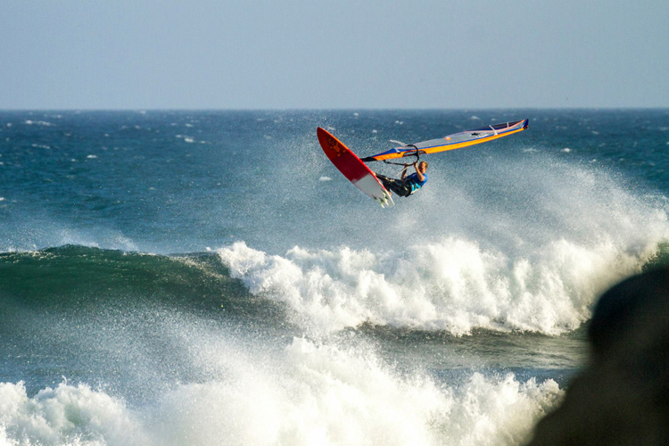 Kevin Pritchard: he scored the biggest aerial of the competition | Photo: Luckybeanz/AWT