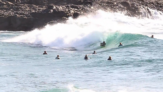 Kiama Wedge: bodyboarding arena