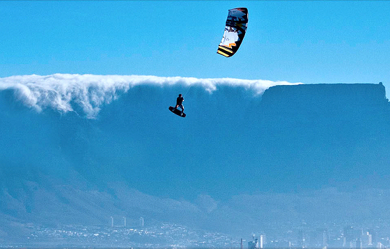 The Red Bull King of the Air: air kiteboarding