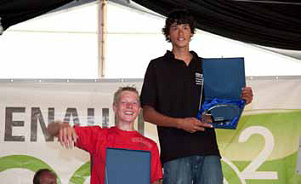 Kiran Badloe wins the 2009 Dutch Youth Regatta