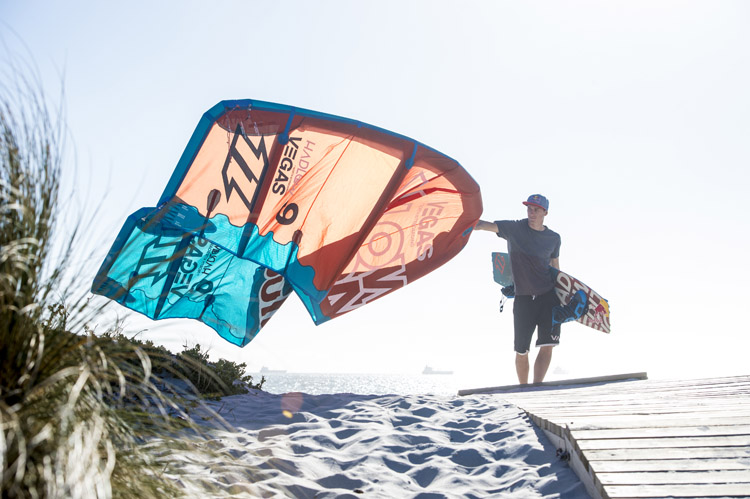 Kites: flying machines powered by the wind | Photo: Red Bull