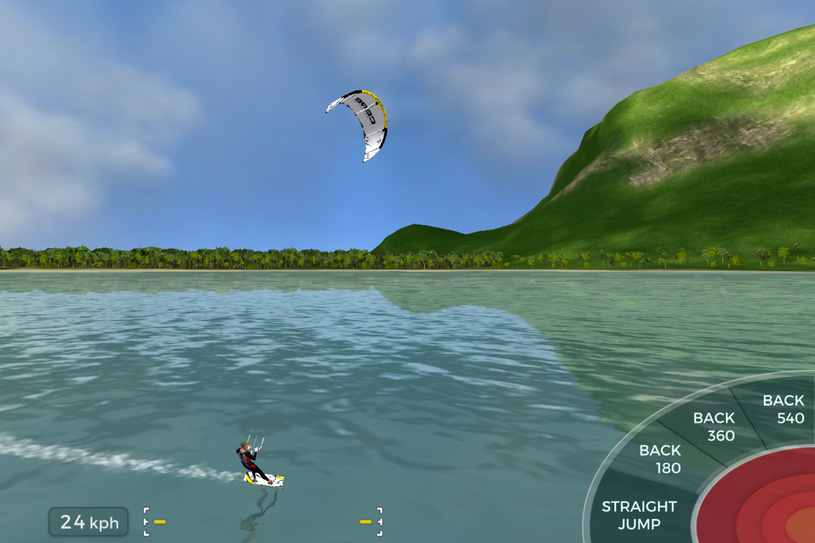 Kiteboard Hero: the new kiteboarding game by Core Kites