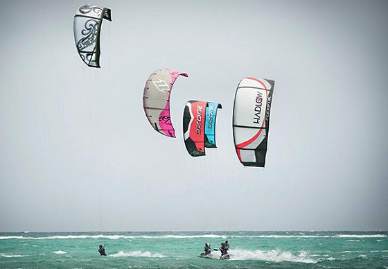 Kiteboarding in Asia: the sport is growing quickly here | Photo: KTA