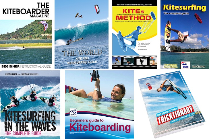 Kiteboarding books: learn and master the kite techniques