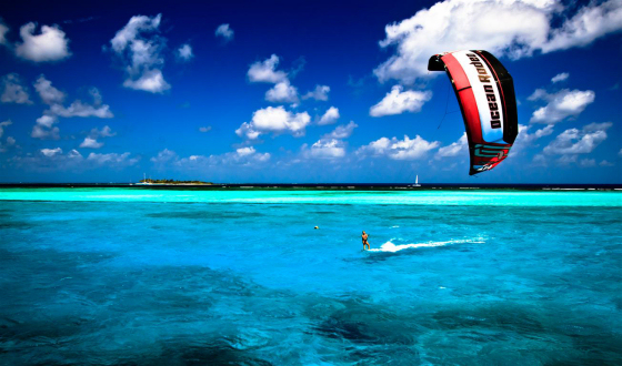 Grenadines: lovely place for kiteboarding