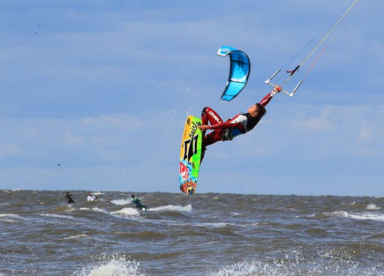 Kiteboard Open: getting airborne in the Netherlands
