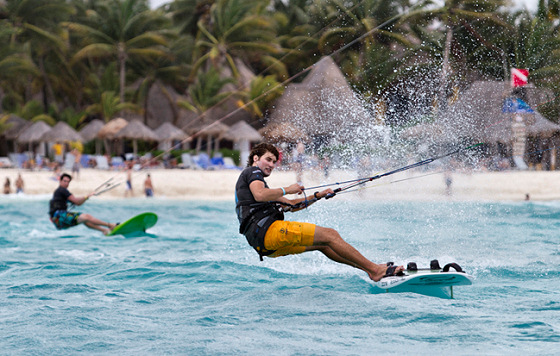 Kiteboarding: goodbye, windsurfers