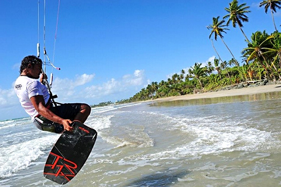 Trinidad and Tobago: riding by the tranparent shores