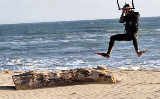 Kite Bodysurfing: the future ok kiteboarding has fins