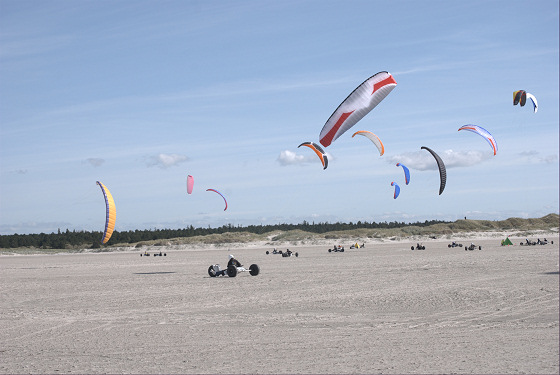 Kite Buggy European Championship