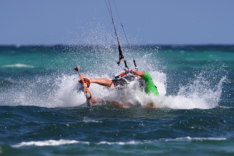 Kiteboarding: the sport lives its worst moment ever