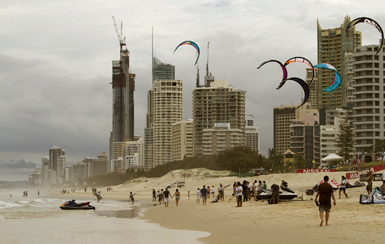 Kite Cross: a discipline close to the beach | Photo: PKRA/Toby Bromwich