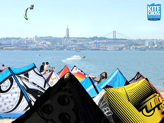 KiteCross Festival Seixal: plenty of water for kiteboarders