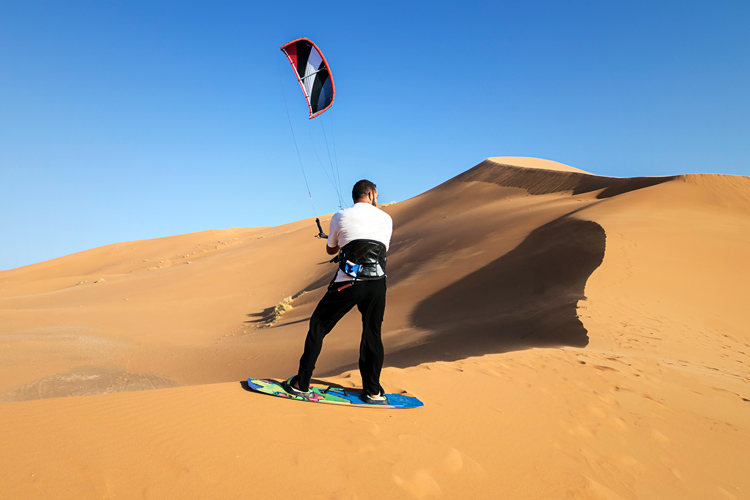 What are the different disciplines of kiteboarding?