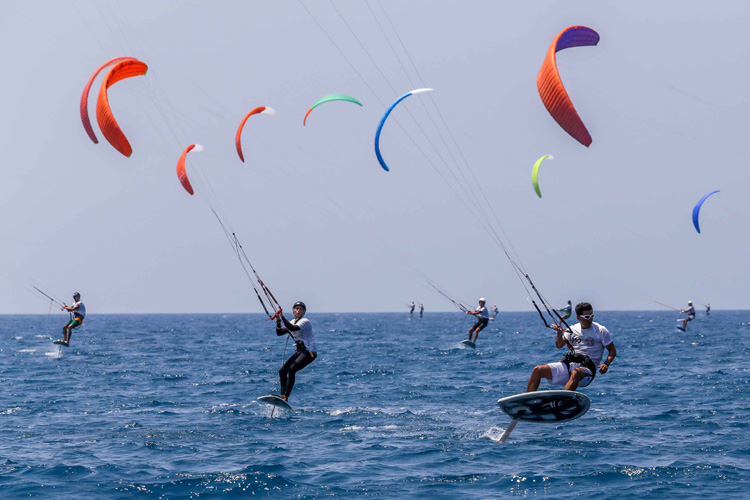 Foil kiteboarding: welcome to the future of the sport | Photo: IKA