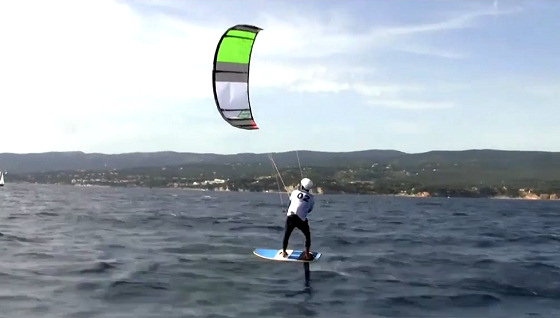 Kitefoil Race World Cup 2012: keep that razor away from the body
