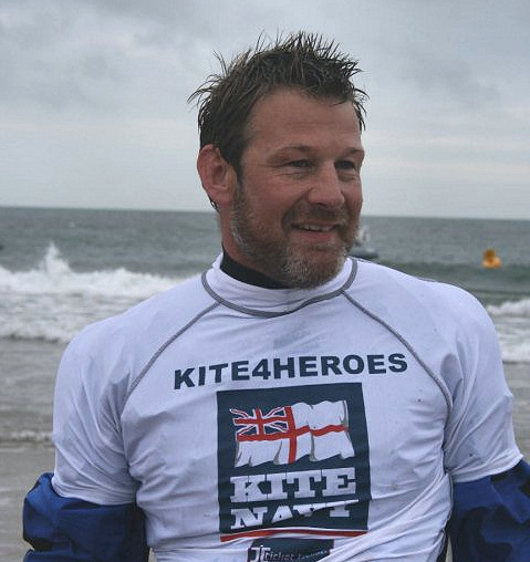 Kite 4 Heroes: well done, boys