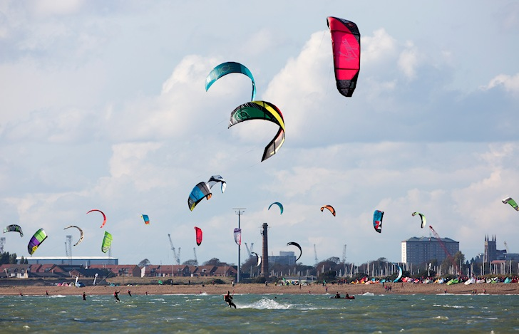 2014 Virgin Kitesurfing Armada: Hayling Island gets invaded | Photo: VKS
